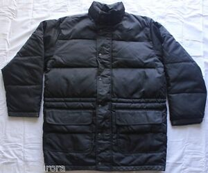 1d1119420 Details about Men's Original Classics Banana Republic Down Parka Black  Puffy Jacket Coat Sz M