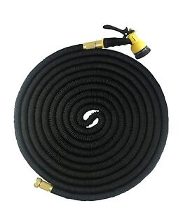 Latex-Deluxe-25-50-75-100-FT-Expanding-Flexible-Garden-Water-Hose
