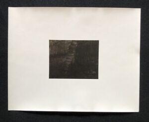 Anna JACQUEMARD, Bassin, Photo lavoro, 1983, firmato a mano e datata