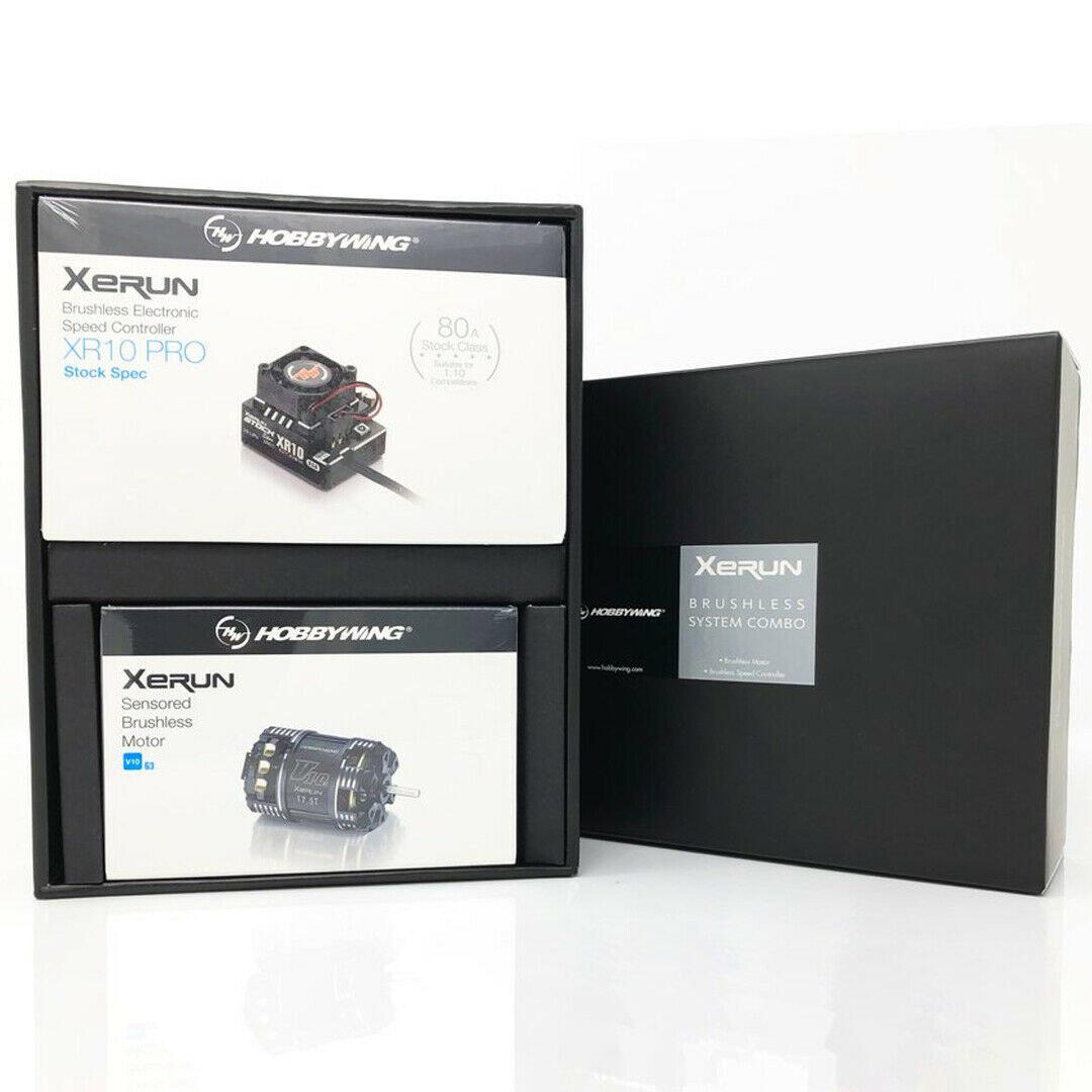 Nuevo Combo Hobbywing Xerun XR10 o-ESC +V10 G3 envío Gratis EE. UU. 21.5T Motor