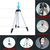 Adjustable Tripod Stand Salon 55hair Cosmetology Mannequin Training Head Hold