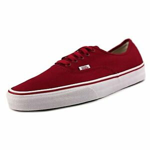 96376f2eca VANS AUTHENTIC JESTER RED WHITE MENS 12 30 CM NEW NIB EUR 46 ERA NIB ...