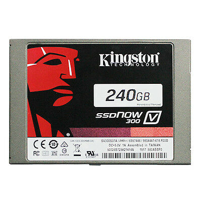 Kingston Technology 240GB SSD Solid State Drive 2.5 inch V300 SATA3 hard drive
