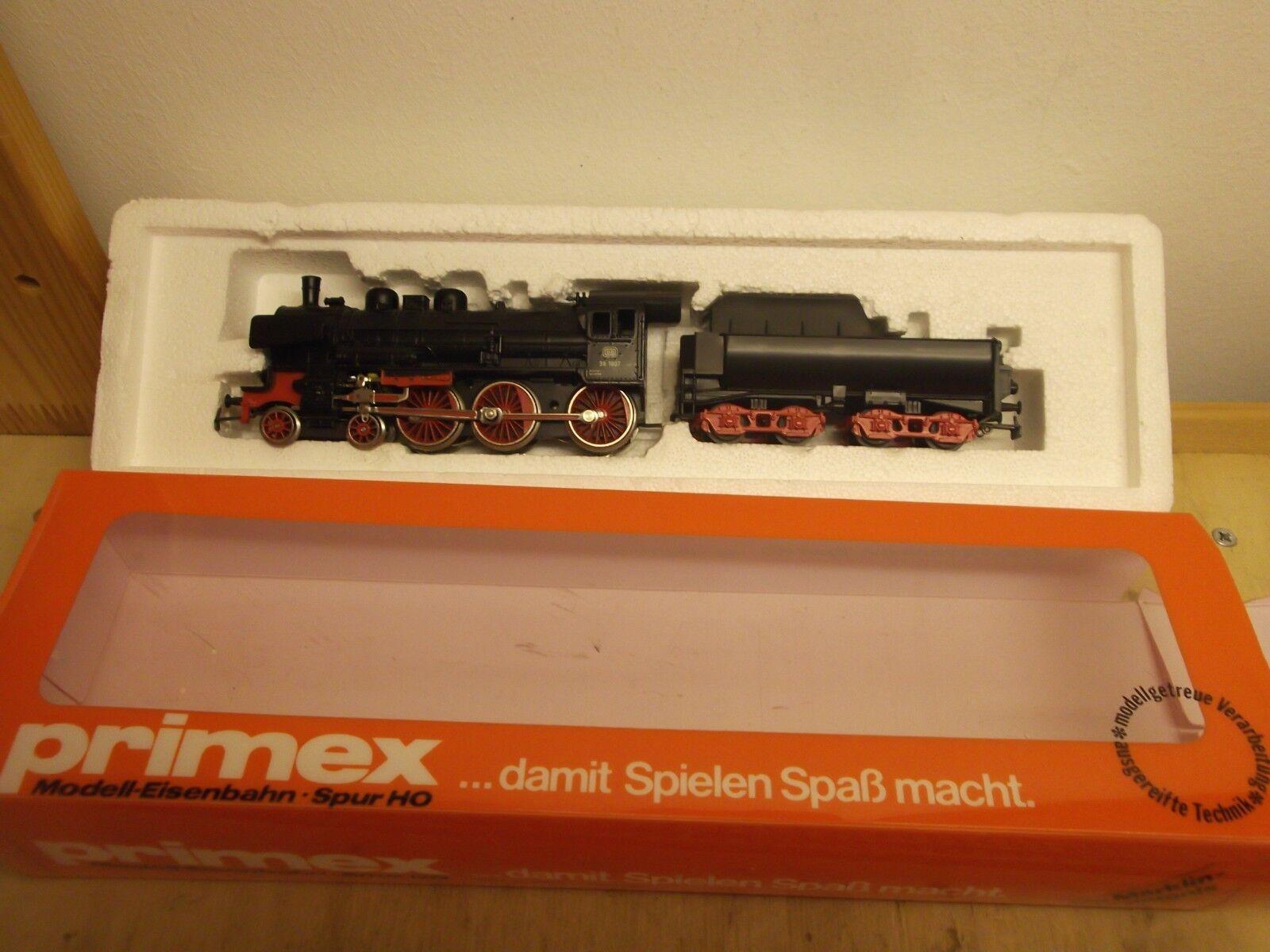 /PRIMEX h0 3010 locomotiva BR 38 delle DB esaminato illuminato in scatola originale