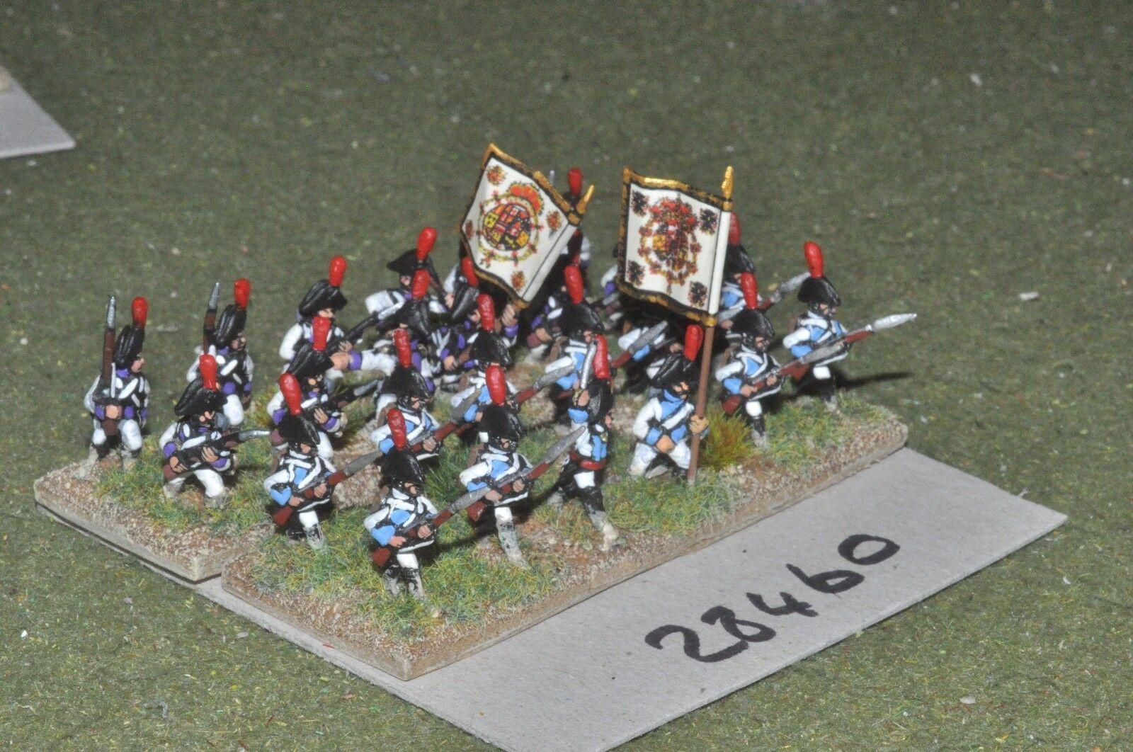 15mm napoleonic   spanish - line 24 figures - inf (28460)