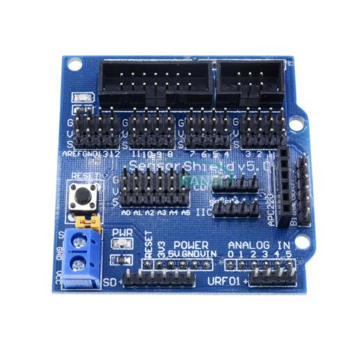 Arduino UNO MEGA Duemilanove Sensor Shield V5 Digital Analog Servo Motor Module