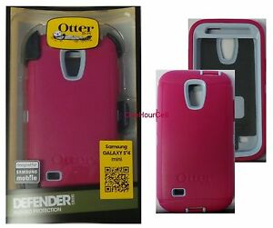 Image is loading OtterBox-Defender-Case-for-Samsung-Galaxy-S4-Mini-