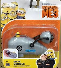 *Despicable Me 3* GRU'S VEHICLE WITH MINION TIM- free wheeling action