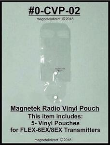 Magnetek Transparent Vinyle Pochette Télécommande Transmetteurs Flexible 6ex 8ex