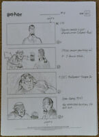 Harry Potter Production Used Storyboard Sorcerer's Philosopher's Stone Hermione