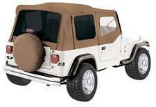 Rampage Complete Soft Top With Frame Amp Tint For 87 95 Jeep Wrangler Yj 68217 Spice Fits 1994 Jeep Wrangler