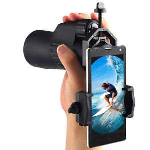 1-PC-Universal-Cell-Phone-Adapter-Mount-Telescope-Mobile-Phone-Clip-Brac-9H