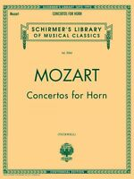 Mozart Concertos For Horn Score And Parts Brass 050481735