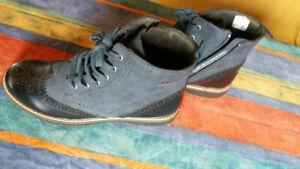 Qualität zuerst kaufen Einkaufen Details zu s. Oliver Red Label Chelsea Boots Stiefelette Navy Blau wie Neu  Gr.40