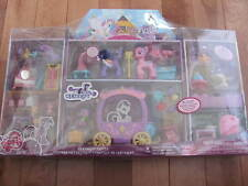 My Little Pony CANTERLOT CASTLE with 40+ Accessorie NEW Carry your ponies