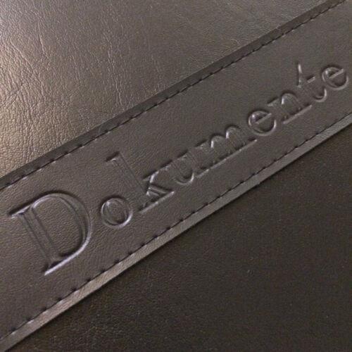 Dokumentenmappe Ringbuch Ordner Aktenmappen Schreibmappe Kunstleder