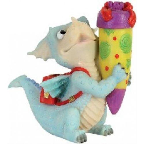 Funny Dragon der Drachen Schulanfänger Drachenfigur Deko Figur