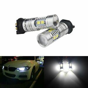 2x PW24W PWY24W SAMSUNG 10W LED Sidelight Daytime Running Light Audi A3 A4 A5 Q3