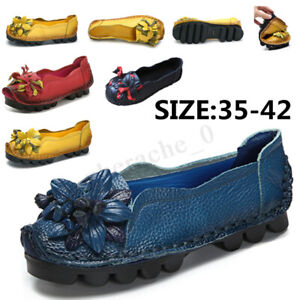 US-SOCOFY-Women-039-s-Comfort-Shoes-Casual-Leather-Soft-Slip-on-Flats-Summer-Loafers