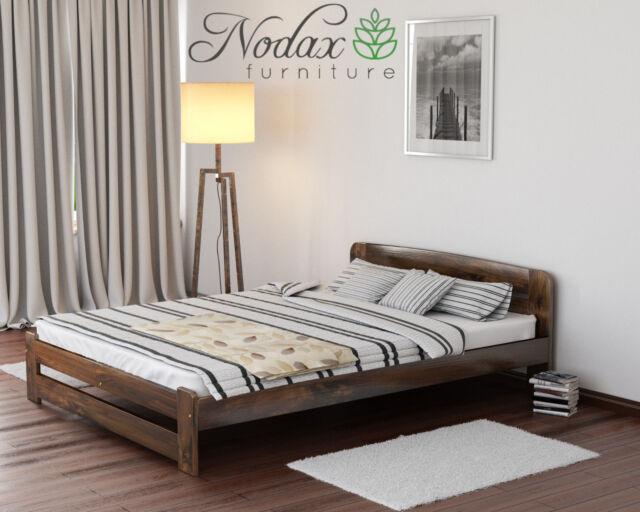 Solid Wooden Bedroom Pine Super King Size Bed 6ft Frame Ebay