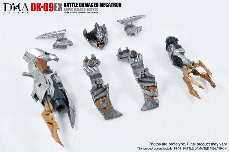 DNA Design DK-09EX Studio Series Battle Damaged Megatron Upgrade Kit.   risparmia il 50% -75% di sconto