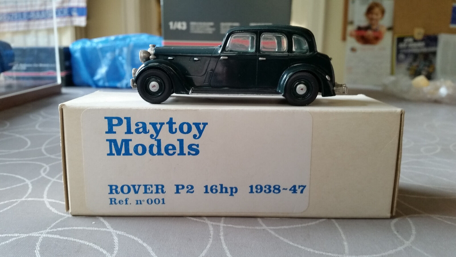 Playtoy Model 001 Rover P2 16HP 1938 MINT OVP RARE