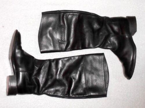 Plates Cavalières Cuir Bottes P Noir Celine Tbe 37 qOEftxw5w