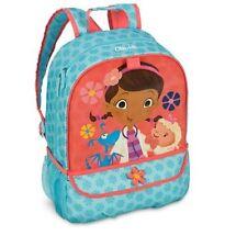 Disney Store Doc McStuffins Doctor Backpack Girls School Bag Stuffy Lambie NWT