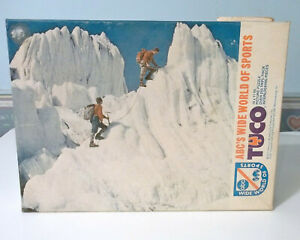 Vintage-Tuco-Jigsaw-Puzzle-Mountain-Climbing-ABC-039-s-Wide-World-of-Sports-15-x-11