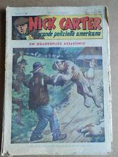 Nick Carter Il Grande poliziotto americano Anni 40 n°45 ed. NERBINI  [G369]