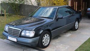 Mercedes-E200-Coupe-1995-2-Hand-schwarz-schwarz-W124