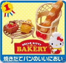 Re-ment Sanrio miniature Hello Kitty Donuts Cake & Bread Shop Bakery Set RARE #1