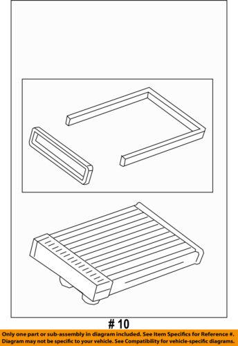 GM OEM-Hvac Heater Core 13406298