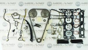 Vauxhall-Corsa-C-1-4-16V-Z14XEP-Twinport-Pernos-cabeza-junta-conjunto-de-la-cadena-de-distribucion