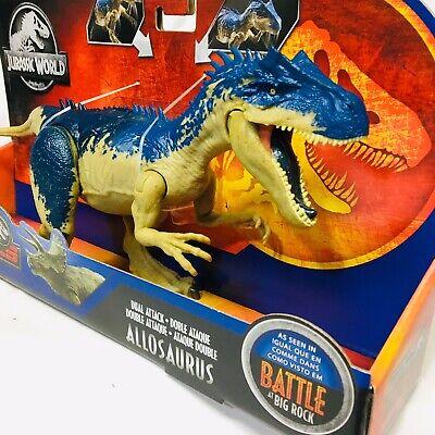 Jurassic World Dual Attack Dino Rivaux Concavenator Dinosaur Figure Brand New!