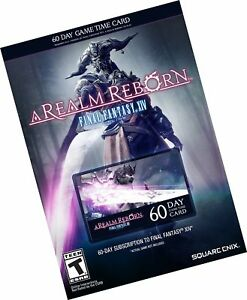 Details about Final Fantasy XIV: A Realm Reborn 60 Day Time Card Free  Shipping