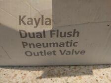 "Macdee Kayla Pneumatic Dual Flush Valve Syphon 2/"" outlet DVA5200"
