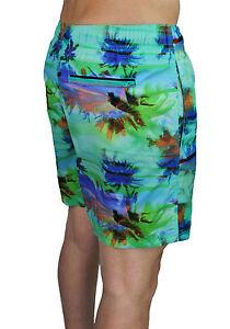 Kleidung & Accessoires Zielsetzung Kostüm Shorts Herren Sundek Original Fantasie Meer Shorts Bermuda Atoll FüR Schnellen Versand Bademode
