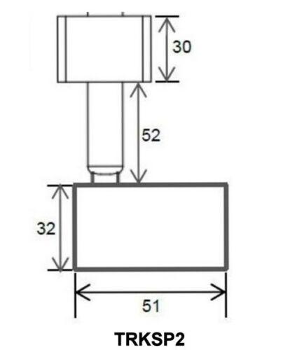 LED GU10 240V Single Circuit Head Tilt Shop Lamp Light Spot Track Light Fixture