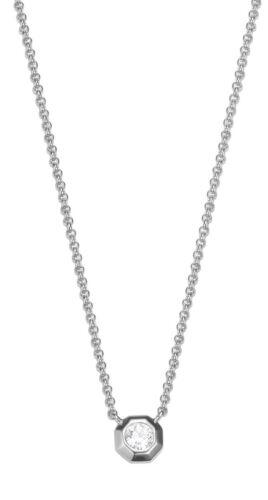 Esprit-tw52890 esnl 93459a420 señora solitario Collier 925 plata con piedras nuevo