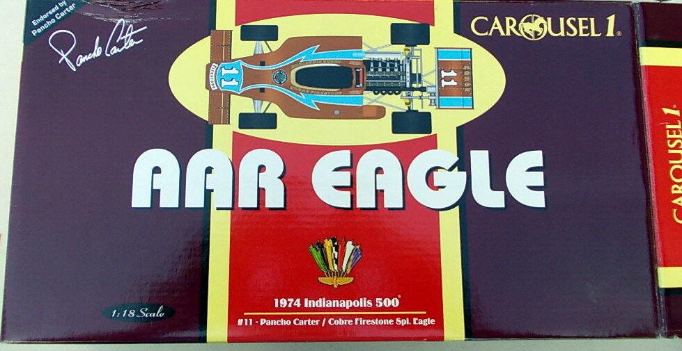 Carousel 1 1 18 - AAR EAGLE 1974 Indianapolis 500 Pancho Carter   Cobre Fire