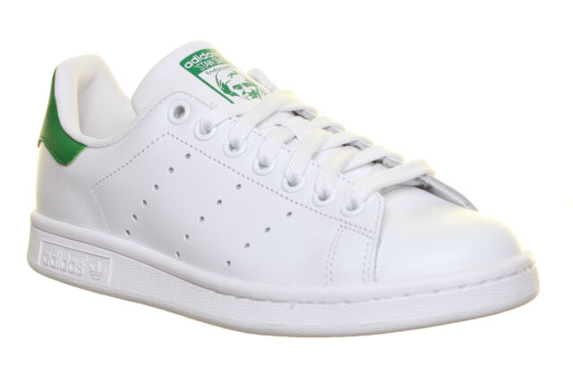 official photos 2678f ba74a adidas Originals Stan Smith White Green Men Classic Casual Shoes SNEAKERS  M20324 8