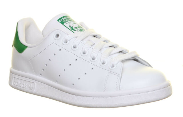 photos officielles 308cb ec7f4 adidas Originals Stan Smith White Green Men Classic Casual Shoes SNEAKERS  M20324 8