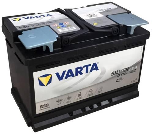 Varta E39 AGM VRLA 12V 70AH 760A Car Battery Fits MERCEDES-BENZ A0045418601
