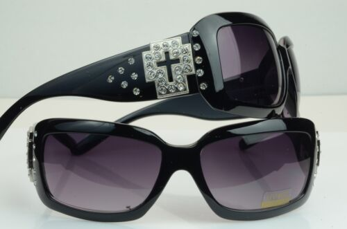 9179 cross  Big Eyewear Bling Retro Vintage  Womens Fashion spring Arms
