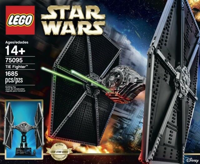 Lego Star Wars 75095. Ultimate Collector Series TIE FIGHTER New and sealed.