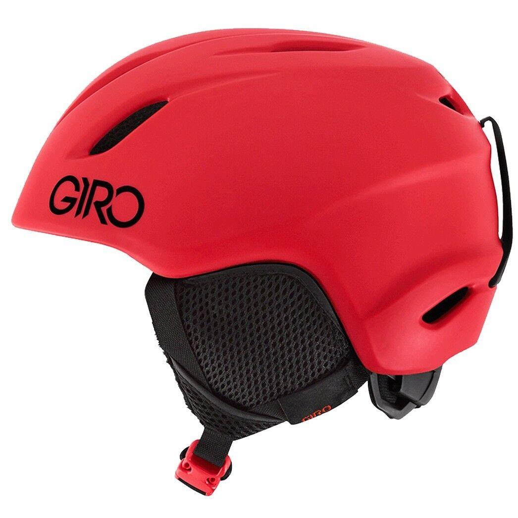 Giro Launch Youth Ski Snowboard Helmet Matt Bright Red NEW skiing Kids boys