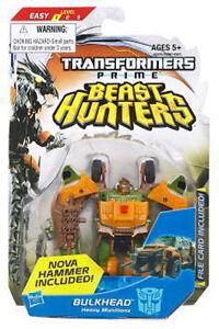 TF Transformers Beast Hunters Commander Class Autobot Prime Bulkhead