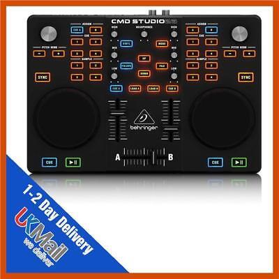 BEHRINGER CMD Studio 2A Dual Deck DJ MIDI Controller USB Interface FREE 2DAY