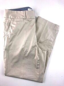 Banana-Republic-Jackson-Fit-Tan-Khaki-Cotton-Blend-Women-039-s-Pants-Size-6